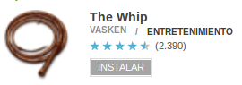 The Whip en Google Play