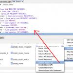 Workbenck SQL Editor